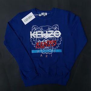 sweatshirt kenzo blue
